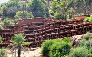 Discover the World's Largest Traditional Bee Yard at Morocco's Inzer Apiary