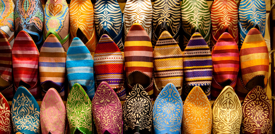 Shopping in Morocco